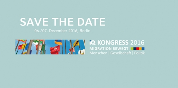 SAVE THE DATE 6./7. Dezember 2016